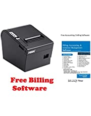 HOIN BIS Certified 80mm Thermal Printer with Auto Cutter. USB + Lan Interface