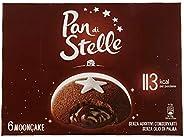 Pan di Stelle Merendine Mooncake, Snack Dolce per la Merenda - 6 Merende