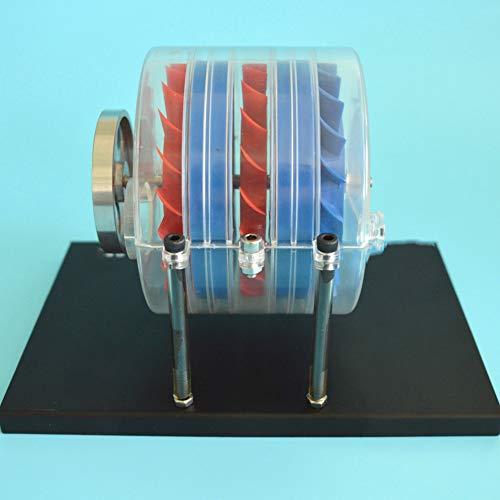 VIEUR Mehrstufig Dampfturbine Modell Physik an der High School Standard Aufbau Labor Demonstration Instrument Science Spielzeug