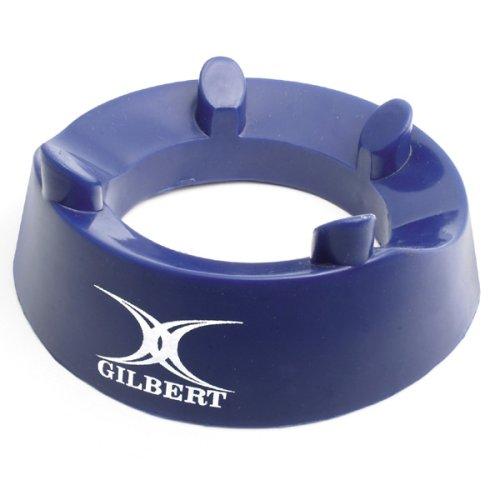 Gilbert Quicker Kicker II Soporte para el Pateo del Balón de Rugby, Azul, Única