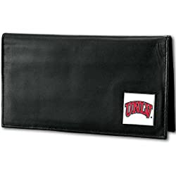 NCAA UNLV Rebels Deluxe Leather Checkbook Cover