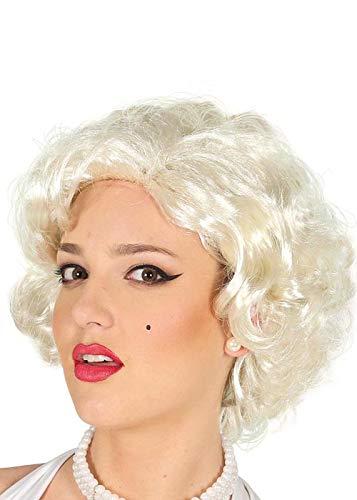Womens White Blonde Marilyn Monroe Stil -