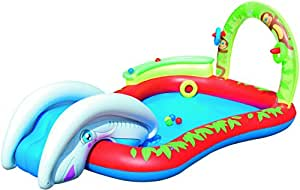 Bestway parco giochi gonfiabile, scivolo 279x173x102 cm