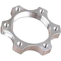 Lorsoul 44mm / 48mm Frenos de Disco de Bicicletas Bridas de aleación de Aluminio Tuerca de Brida Rosca Asiento del Freno de Disco Adaptador de conversión
