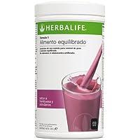 Herbalife Frullato Formula 1, 550 g sostitutivo del pasto Lampone e Mirtillo