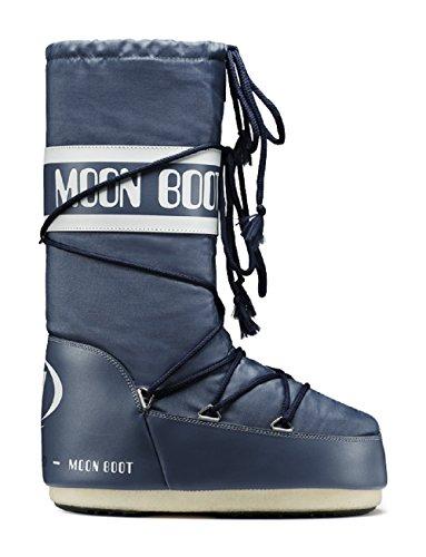 Moon Boot by Tecnica Nylon Denim Blue, Größe:35-38