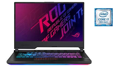 "Asus ROG SCAR III G531GU-ES104T PC Portable Gamer 15""FHD Dalle 144Hz (Intel Core i7-9750H, RAM 16Go DDR4, HDD1 1TB5 SSH8G + 256Go PCIE, Nvidia GTX 1660 Ti 6Go, Windows 10) Clavier AZERTY Français"