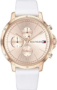 Tommy Hilfiger Women's Analogue Quartz Watch with Leather Strap 178