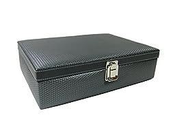 Essart Polyurethane Watch Box (Grey)-WL-02