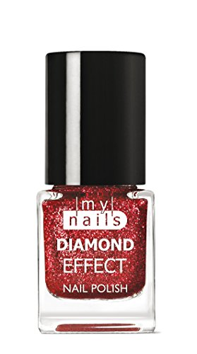 My Nails – Red Diamond Effect