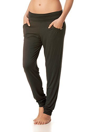 Mey Loungewear Lounge Damen Yoga Pants Schwarz XL