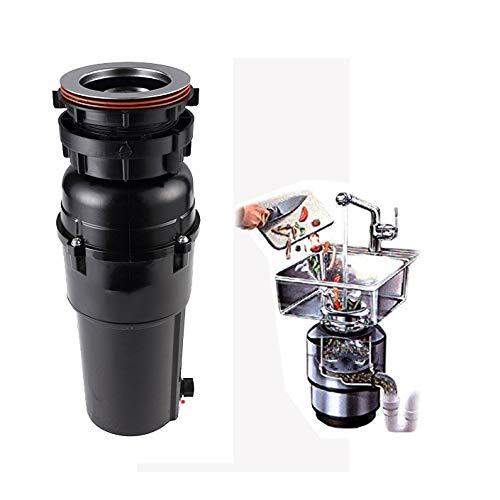 RENYAYA Lebensmittelentsorgung, Haushalts-Sewer-Grinder-Reiniger mit Luftschalter 3-Stage Grinding Technology,110-120V