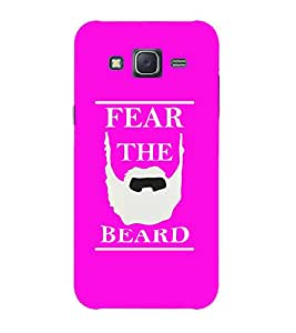 Doyen Creations Printed Back Cover For Samsung Galaxy J2