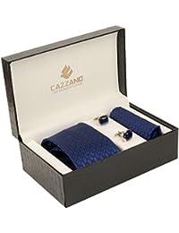 Cazzano Checkered Men's Tie Set (TCPNC138)