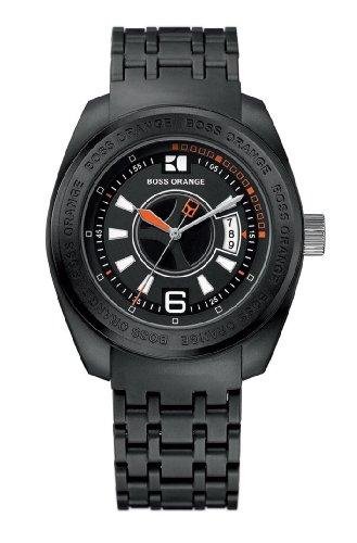 Hugo Boss 1512540 – Reloj de caballero de cuarzo, correa de plástico color negro