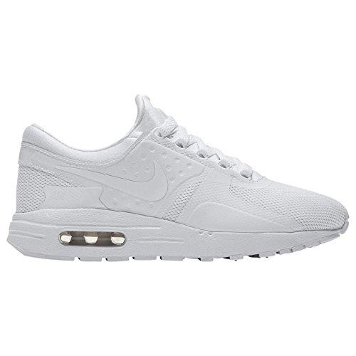 Nike Air Max Zero Essential GS, Scarpe da Trail Running Bambino, Bianco White/Wolf Grey/Pure Platinum 100, 38 EU