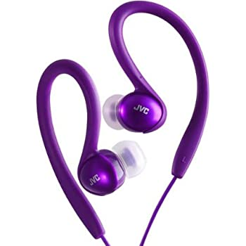 JVC HA-EBX5-V-E Splash Proof Sports Headphone - Violet
