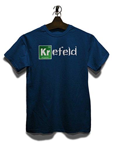 Krefeld T-Shirt Navy Blau