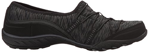 Skechers Breathe Easy Golden, Baskets Basses Femme Noir (Blk)