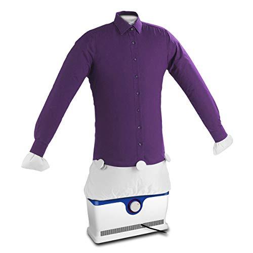 Automatischer Bügler Bügelpuppe für Hemden Blusen T-Shirts Trocknet und Bügelt Kleidung Automatisch in Einem Hemdenbügler,Reisebügelpuppe,Bügelmaschine