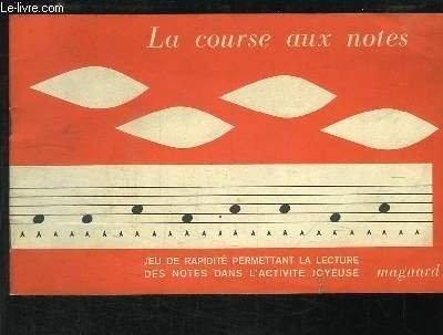 La Carrera en los Notes. Juego complementarios a la método Martenot. [Broché] by MA...