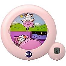 wei/ß Claessens Kids KSMOONHK Kidsleep Moon-Nachtlicht//Aufsteh-Anzeiger Hello Kitty
