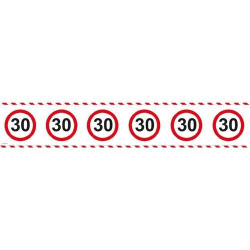 Folat Absperrband Verkehrsschilder 30 /15mtr
