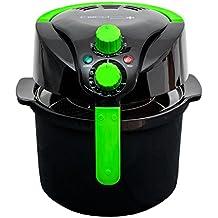 Freidora sin aceite multifunción, cocina dietética. Fríe, tuesta, asa y hornea. Capacidad de 5 l, Potencia de 1000W. Incluye recetario. CecoFry Compact Plus de Cecotec.