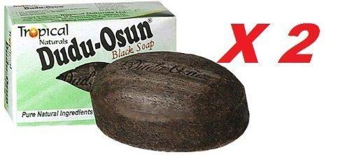 2 x *ORIGINAL* Akoma African Black Soap from Ghana (Bars) / NATURAL SOAP 150g