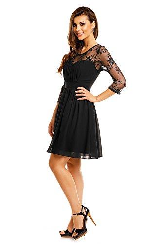 Fashion -  Vestito  - Donna Nero