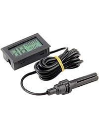 Kineca Medidor de Temperatura Mini Digital LCD Termómetro higrómetro Humedad Interior