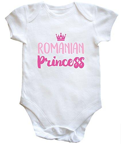 41pDtSA6tCL - NO.1 BEAUTY# HippoWarehouse Romanian princess baby vest boys girls Reviews  Best Buy price
