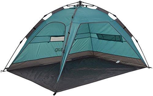 Uquip XL Strandzelt Buzzy mit UV Schutz 50+ Sonnenschutz, Windschutz