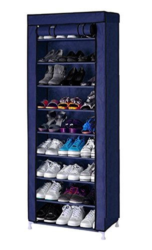 9 Layer Portable Multi Utility Shoe Rack Organizer