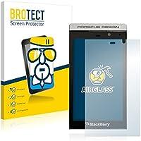 BROTECT AirGlass pellicola vetro flessibile per BlackBerry P9982 Porsche Design (estremamente robusta, ridotto spessore, elevata trasparenza, anti-impronte e antimacchia, installazione senza bolle)