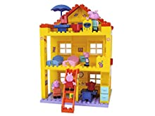 Big 800057078 - Peppa Pig Costruzioni Casa a Tre Piani