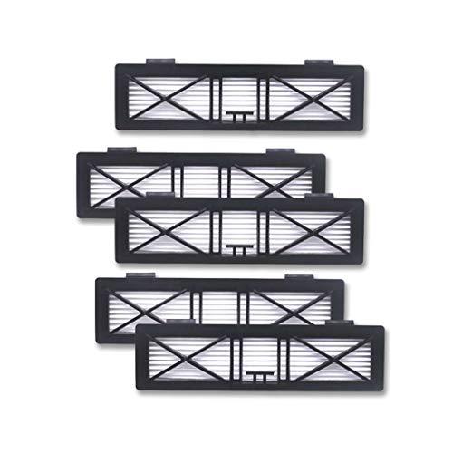 Jinzuke 1pcs / 5pcs HEPA Filter Ersatz für Neato Botvac D3 D5 D70 D75 D80 D85 70E Staubsauger Hausreinigung Filtering Werkzeugteile -