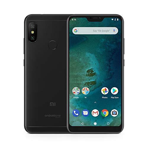 "Xiaomi Mi A2 Lite - Smartphone de 5.84"" (4G, Snapdragon 625, RAM de 3 GB, Memoria de 32 GB, cámara Dual de 12+5 MP, Android) Color Negro"