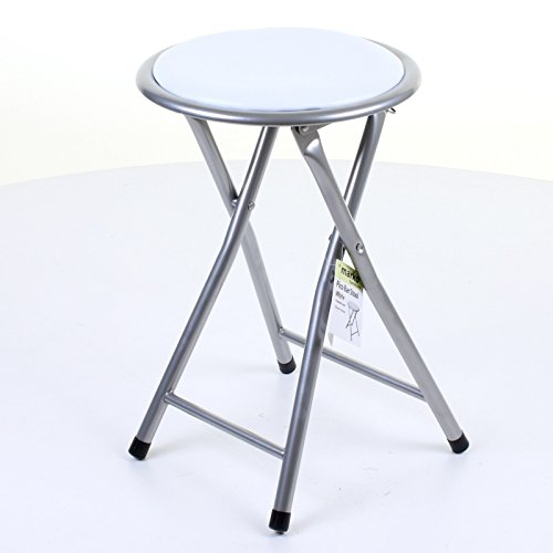 marko-furniture-round-folding-kitchen-breakfast-bar-stool-chair-silver-frame-seat-white