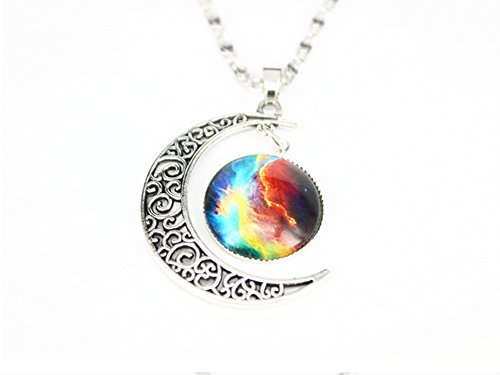sheclubr-unique-design-crescent-moon-galaxy-universe-glass-cabochon-pendant-necklace-christmas-gifts
