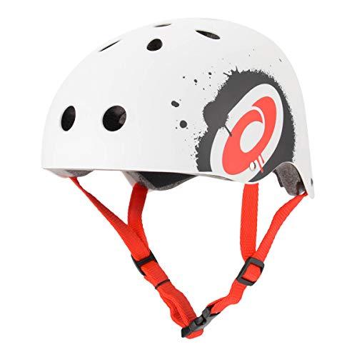 Osprey Helmet Skate Helmet, White, Unisex Adult, BGG1417