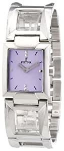 Festina Damen-Armbanduhr XS Trend Lady Analog Edelstahl F16554/2