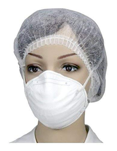 5 Stück Atemschutzmaske FFP 2 ohne Ventil Halbmaske einzeln in Folie verpackt EN 149:2001 von Medi-Inn