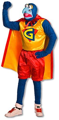 Und Kostüm Statler Waldorf - Gonzo der Große Muppets Kostüm