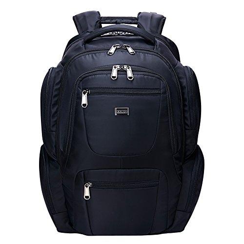 Rucksack große Kapazität 40L Wasserdichter Reiserucksack Damen Herren Daypack mit 18 zoll Laptopfach für Reisen, Outdoor Sport, Camping und Campus (Hauptfach Großes)