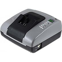 Powery Cargador de Batería con USB para Dewalt Cámara de inspección DCT410S1