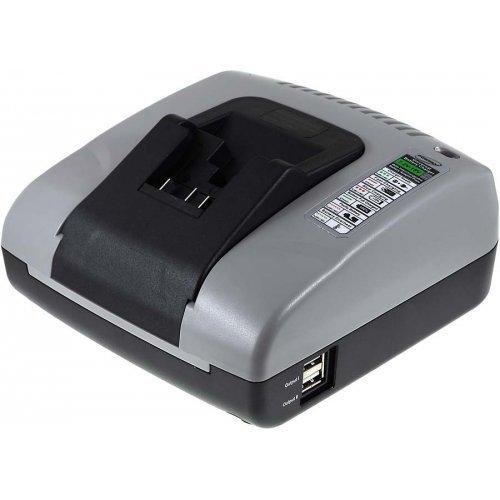Premium Powery Akku-Ladegerät mit USB für Dewalt Typ DCB183, - Usb 20 Volt Dewalt
