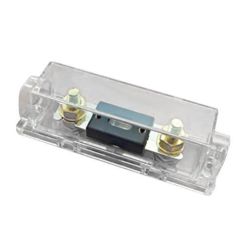 kokiya Car Audio ANL Portafusibile Portafusibile 0 4 8 Calibro In Linea Con 50A 80A 100A 120A 150A 200A 250A 300A Fusibile ANL - 50A