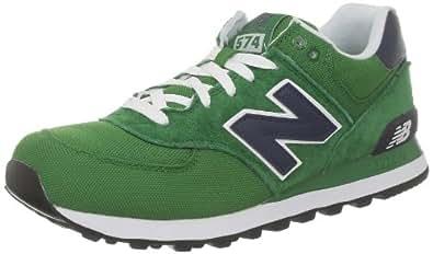 New Balance ML574C D 282331-60 Herren Sneaker, Mehrfarbig (CVG GREEN/NAVY 6), EU 37 (US 4.5)