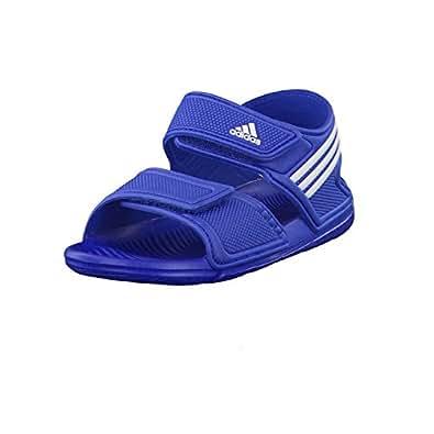 380303c4fcfd adidas Boys Children Boys Akwah 9 Sandals in Blue - UK 1  Amazon.co ...